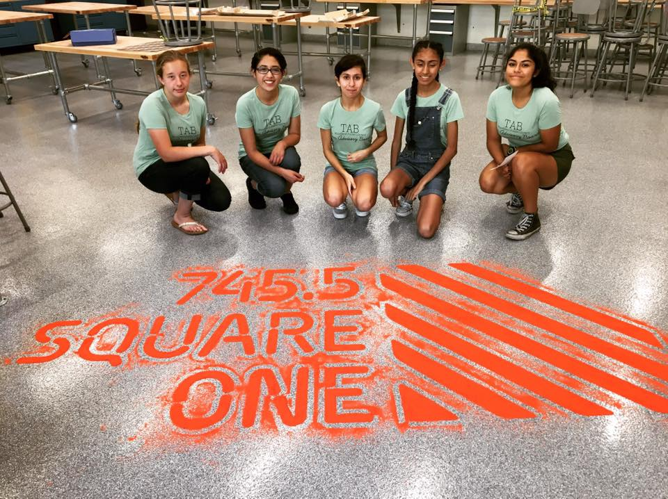 Teens tour Square One as construction finishes